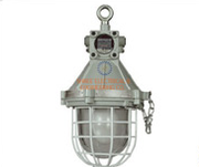 FLAMEPROOF WELL GLASS LIGHT FIXTURE