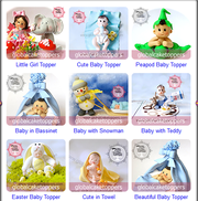 Cute baby Cake Toppers Online Order
