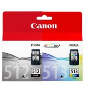 Buy Canon PG-512 Black and CL-513 Colour Combo pack Ink-Storeforlife