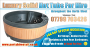 Hot Tub Hire in Cheshire at Affordable Price